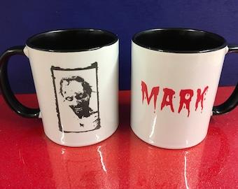 Personalised Walking Dead TWD Theme Mug - Zombie Walker Roamer Lurker GIFT MUG