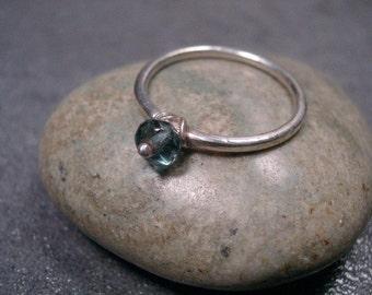 Blue Dot Ring