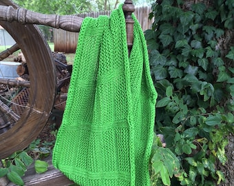 Knitting Pattern for a Textured Cowl - PDF file