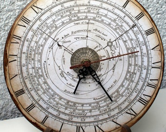 Confusing clock, Astrological clock, Clock of Destiny, Karma, Horoscope, Stars, Home Decor, Home and Living, Make Believer, Time, Clock,