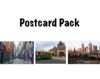 Melbourne Postcard Pack