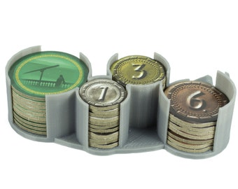 7 Wonders Duel Currency and Science Token Holder
