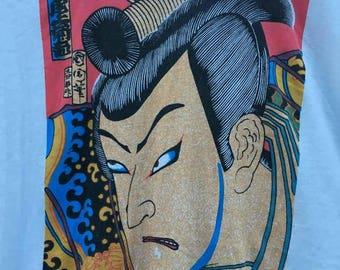 Vintage japanese sumo 90s high fashion t shirt