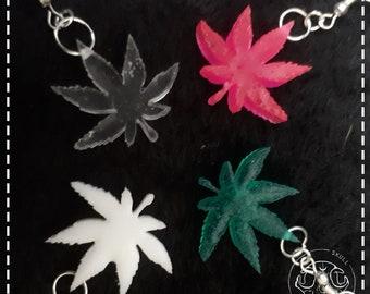 weed earrings