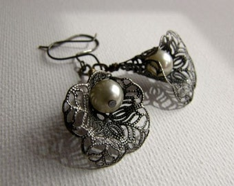 Victorian Lily Earrings