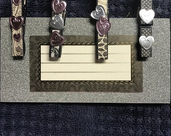 Beautiful magnet clips Set of (4)