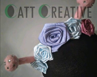 Butterfly Antennae Headband - Floral and Pastel Colours