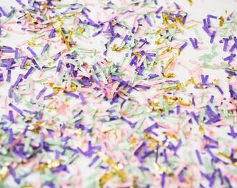Unicorn Confetti, Unicorn Birthday Confetti, Confetti Bar, Confetti Jar, Unicorn Baby Shower, Unicorn Photo Prop, Packaging Supplies