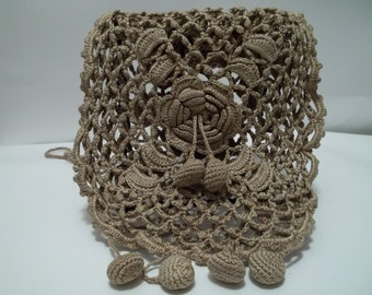 Antique Crocheted Purse Estate Find