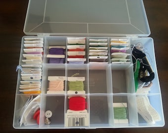 DMC Embroidery Thread Set - 40+ Floss Spools