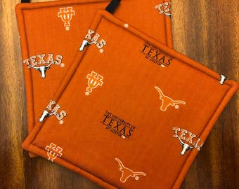University of Texas Hot Pads/Pot Holders
