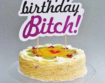 Naughty cake topper Etsy