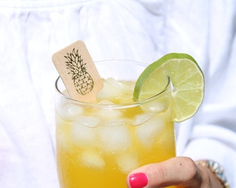 Pineapple Drink Stirrers