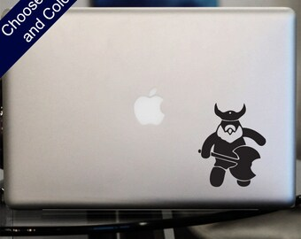 Cute Viking Decal -for Laptop, Car