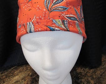 Women's small straight scrub hat