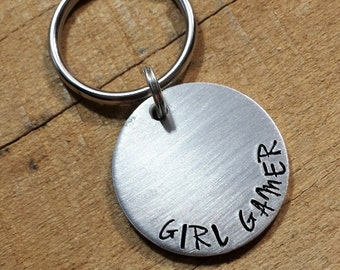 Gamer Gift - Gift for Gamers - Video Game Keychain - Video Game Key Ring - Girl Gamer - Gift for Gamer - Gifts for Her - Nerd Girl