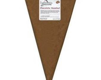 Chocolate Hazelnut 8 oz Squeeze Ums - Candy Center Filling Bag Soft Center Drizzle