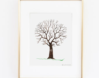 Teacher Gift |Teacher Appreciation gift | Teacher Finger Print Tree Printable Art |Techer Present| Inspirational Quotes | Teacher Quote