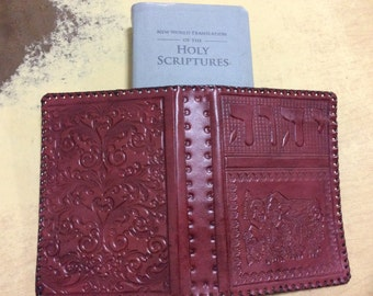Jehovah's Witnesses. Bible cover. new world translation. Leather. normal size.JW