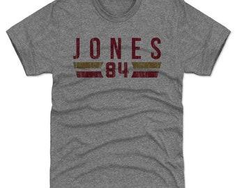 Brent Jones Shirt | San Francisco Throwbacks | Men's Premium T Shirt | Brent Jones Font R