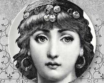 gypsy Lina Cavalieri plate