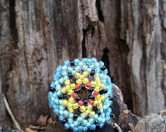 Handmade Beaded Ring