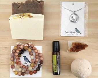Gift Box / Aromatherapy / Essential Oil/ Diffuser / Warm