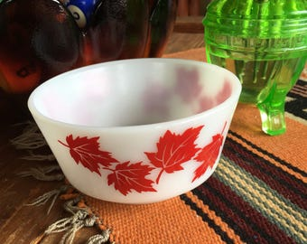 Hazel Atlas Maple bowl