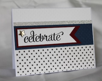 "Homemade Anytime Card: ""Celebrate"""