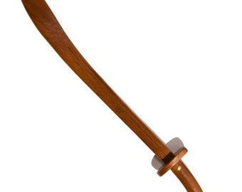 Solid wood sword collectible measures 130 cm beautiful