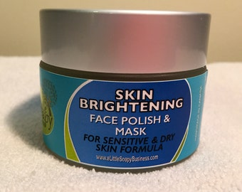 Skin Brightening Face Polish and Mask