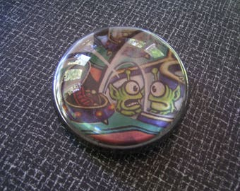 Magnifying Paperweight  Photo Paperweight Vintage