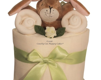 Guess How Much I Love You Mini Nappy Cake baby shower gift - FREE Delivery