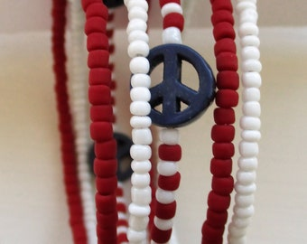Patriotic, USA, Peace, red, white and blue...I <3 America