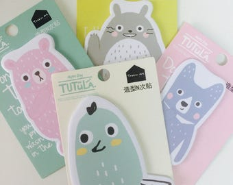 Totoro Memo Pad - Sticky Notes - 4 Designs - Note Pad