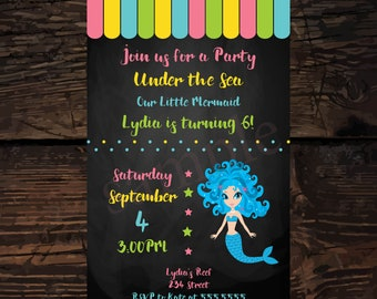 Helicopter birthday invitation helicopter invitation personalized mermaid invitations mermaid birthday invitation under the sea invitation girl birthday party invite digital file stopboris Images