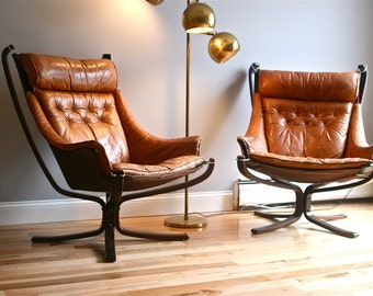 RESERVED FOR JR -One Falcon Chair by Sigurd Resell for Vatne Møbler
