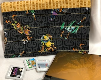 Nintendo 3DS XL Case: Legend of Zelda-Black and Gold