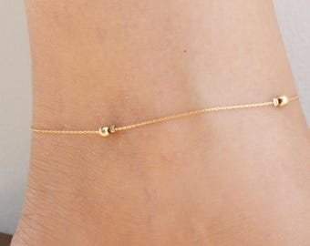 bracelet chain avenue silver amazon gold rope over dp com sterling vermeil ankle quot anklet gem