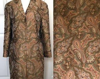 Tapestry Coat . paisley coat .  & Trousers . coat . paisley coat