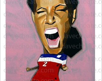 Sydney Leroux, USA Soccer, Photo Print