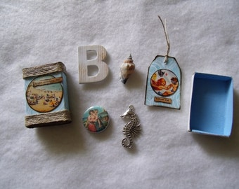 Bright Sunshiny Day! Matchbox with Goodies