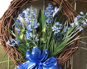 Wreath blue