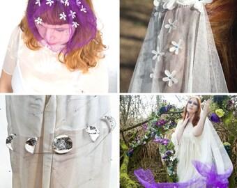 Veil sample, fabric sample, wedding veil, bridal veil, veil sample, tulle sample, net sample, test swatch, veil swatch, custom wedding veil