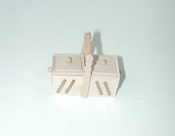 Hood, for the doll house, the Dollhouse, Dollhouse miniatures, cribs, miniatures, model making # v 23135