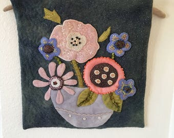 Wool Applique Pattern Amp Or Kit Wide Eyed Curiosity