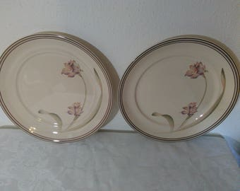 Partners by Noritake Keltcraft Ireland Pattern No. 9127 Dinner Plates - Set of Two (2)