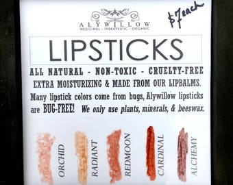 LIPSTICK from plants and minerals || BUG-free and no synthetics || Moisturizing & Soft || Nourishing || Vitamin Rich || Paraben Free