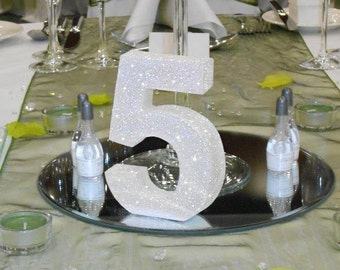 Wedding table numbers set 1-15 Table centrepieces Luxury wedding reception decoration wedding decorations wedding table decor