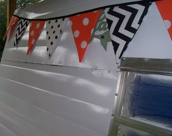 Vintage Camper Bunting Banners, Shasta, Airstream, Scotty, ETC!